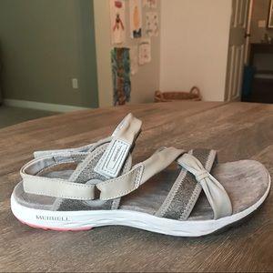 Size 7 Merrell Air Cushion Sandals